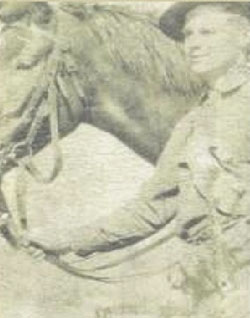 This is the only photograph we have of my grand-uncle Tom Reilly.